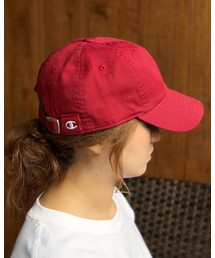 帽子 キャップ 【CHAMPION】クラシック ウォッシュド コットン キャップ Classic Washed Twill Cap|ZOZOTOWN PayPayモール店