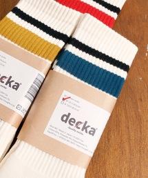 靴下 decka quality socks デカ クォリティソックス / 80's SKATER SOCKS スケーターラインソックス / レディー|ZOZOTOWN PayPayモール店