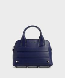 バッグ ハンドバッグ エンベリッシュドアイレット トップハンドルバッグ / Embellished-Eyelet Top Handle Bag|ZOZOTOWN PayPayモール店