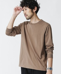 tシャツ Tシャツ 《WEB限定》超長綿リラックスフィットクルーネックTシャツ 長袖 ZOZOTOWN PayPayモール店