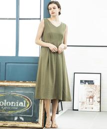 ドレス 【STYLEBAR】リングドットフレアドレス|ZOZOTOWN PayPayモール店