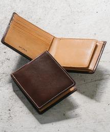 財布 イタリアン/フルグレイン レザー スキミング防止機能付 二つ折り財布 ZOZOTOWN PayPayモール店