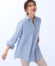 シャツ ブラウス オーバーサイズストライプシャツ|ZOZOTOWN PayPayモール店