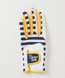 手袋 BEAMS GOLF ORANGE LABEL / ボーダー グローブ(左手用) ZOZOTOWN PayPayモール店