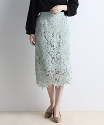 スカート フラワーレースタイトスカート|ZOZOTOWN PayPayモール店
