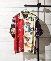 シャツ ブラウス 【Sa】レーヨン オープンカラー ビッグアロハシャツ|ZOZOTOWN PayPayモール店