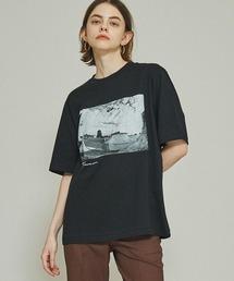 tシャツ Tシャツ 【JANE SMITH(ジェーンスミス)】《STUDIOUS別注》モノクロフォトTシャツ|ZOZOTOWN PayPayモール店
