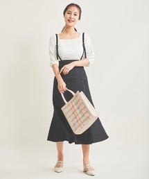 スカート サスペンダー付ナロースカート|ZOZOTOWN PayPayモール店