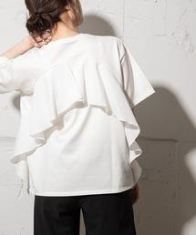 tシャツ Tシャツ バックフリルTシャツ|ZOZOTOWN PayPayモール店