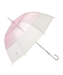 傘 【雨傘】プリュイ バイカラー ビニール傘 58cm ピンク|ZOZOTOWN PayPayモール店