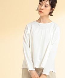 tシャツ Tシャツ Ray BEAMS / バック フレア ロングスリーブ Tシャツ|ZOZOTOWN PayPayモール店