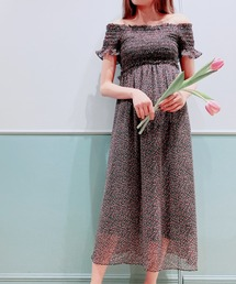 ワンピース チューリップシフォンロングドレス|ZOZOTOWN PayPayモール店