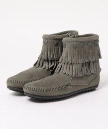 ブーツ MINNETONKA(ミネトンカ) / フリンジ サイドジップブーツ|ZOZOTOWN PayPayモール店