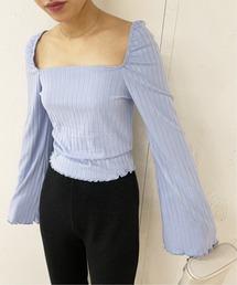 tシャツ Tシャツ 【LISA SAYS GAH/リサセイガウ】 クロップド リブトップス ZOZOTOWN PayPayモール店