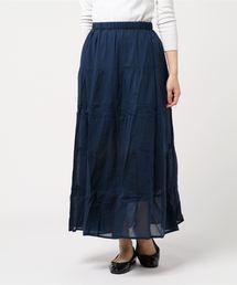 スカート 【FORT POINT】インド綿マキシスカート|ZOZOTOWN PayPayモール店