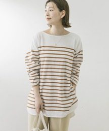 tシャツ Tシャツ F by ROSSO ボーダーチュニック|ZOZOTOWN PayPayモール店
