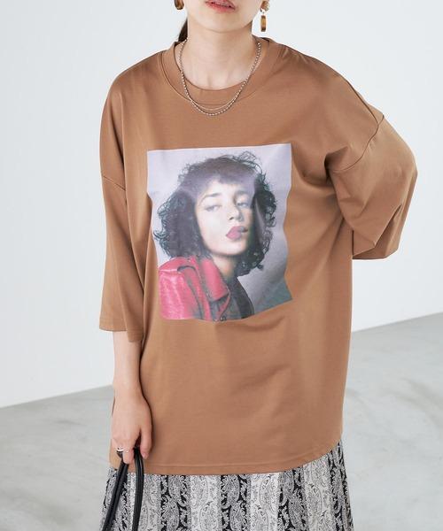 tシャツ Tシャツ オーバーサイズフォトグラフィックTシャツ ●日本正規品● 即納