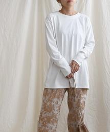 tシャツ Tシャツ 【Made in Japan】【吸水速乾・UVカット・抗ピリング】 レイヤードデザインプルオーバー|ZOZOTOWN PayPayモール店