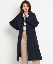アウター 【S〜L】ベンタイルスタンドカラーコート ZOZOTOWN PayPayモール店