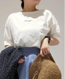 tシャツ Tシャツ 刺繍ロゴTee|ZOZOTOWN PayPayモール店