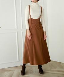 スカート ボタン付きハイウエストスカート|ZOZOTOWN PayPayモール店