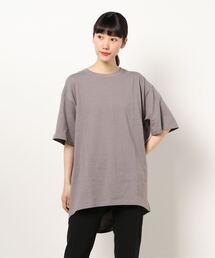 tシャツ Tシャツ 裾タックチュニックTee|ZOZOTOWN PayPayモール店