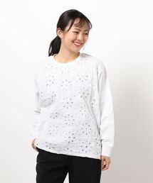 tシャツ Tシャツ コットンローンボーラーレース+天竺ドルマンカットソー|ZOZOTOWN PayPayモール店