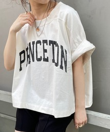tシャツ Tシャツ 5分袖デカロゴショートスウェット|ZOZOTOWN PayPayモール店
