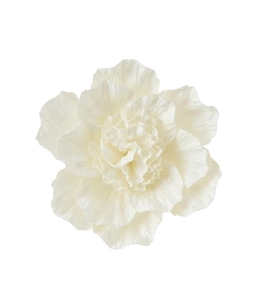 受賞店 品質保証 インテリア ウォールフラワー ピオニー S ホワイト