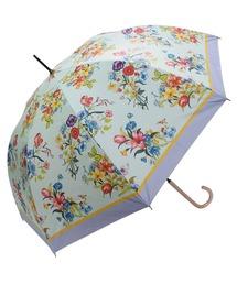 傘 完全遮光晴雨兼用 ジャンプ傘 ノーブルボタニカル柄 ZOZOTOWN PayPayモール店