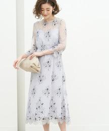 ドレス 【一部店舗限定】レースレイヤードドレス ZOZOTOWN PayPayモール店