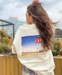 tシャツ Tシャツ 【ZOZO限定アイテム】BACK PHOTO TEE/ロキシーバックプリント半袖フォトTシャツ|ZOZOTOWN PayPayモール店
