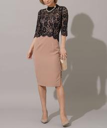 ドレス hight necked lace dress ZOZOTOWN PayPayモール店