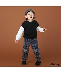 パンツ 【Disney】膝パッチカットパンツ|ZOZOTOWN PayPayモール店