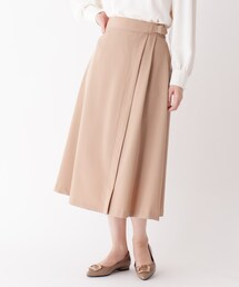 スカート 【大きいサイズあり・13号】ベルトタックスカート|ZOZOTOWN PayPayモール店