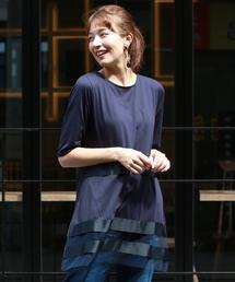 tシャツ Tシャツ グログランリボンシアーラインカットソー|ZOZOTOWN PayPayモール店