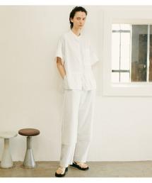 シャツ ブラウス Contrasting Fabric Shirt|ZOZOTOWN PayPayモール店