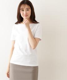 tシャツ Tシャツ オーガニックコットンベーシックTシャツ ボートネック|ZOZOTOWN PayPayモール店