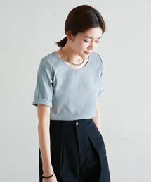 tシャツ Tシャツ C/Puリブ ラウンドネックP/O|ZOZOTOWN PayPayモール店