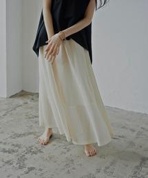 スカート 風合いと品の良さが魅力 シアーニットフレアスカート|ZOZOTOWN PayPayモール店