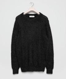 ニット Feather Chenille yarn Crew-neck Knit|ZOZOTOWN PayPayモール店