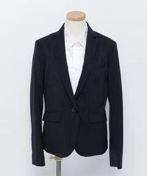 ジャケット テーラードジャケット ストレッチストライプ セットアップスーツジャケット|ZOZOTOWN PayPayモール店