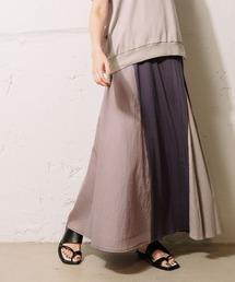 スカート カラーブロックスカート【セットアップ着用可能】|ZOZOTOWN PayPayモール店