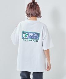 tシャツ Tシャツ 【DISCUS】ディスカス 手描き風ロゴプリントTee ZOZOTOWN PayPayモール店