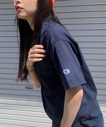 tシャツ Tシャツ 【Champion Authentic T-SHIRTS】レディース チャンピオン スーパーオーバー サイズ コットン 無地 半袖|ZOZOTOWN PayPayモール店