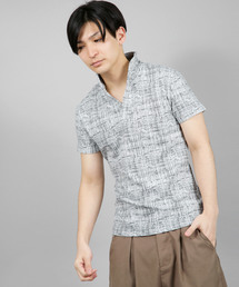 ポロシャツ SS/モザイクチェックイタリアンカラーポロ|ZOZOTOWN PayPayモール店
