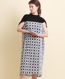 ワンピース 【mintdesigns(ミントデザインズ)】カットグラスTワンピースドレス|ZOZOTOWN PayPayモール店