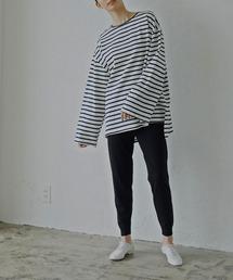 tシャツ Tシャツ 最旬マリンボーダー ゆるっとボーイフレンドサイズTシャツ|ZOZOTOWN PayPayモール店