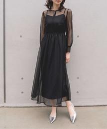 ドレス 幾何学チュールワンピース|ZOZOTOWN PayPayモール店