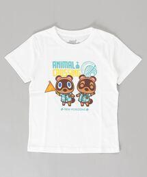 "tシャツ Tシャツ KIDSあつまれどうぶつの森プリントTシャツ キッズ  ""あつもり""|ZOZOTOWN PayPayモール店"